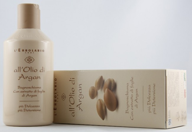 Bagnoschiuma Erbolario : Bagnoschiuma lerbolario allolio di argan signorina bloggy