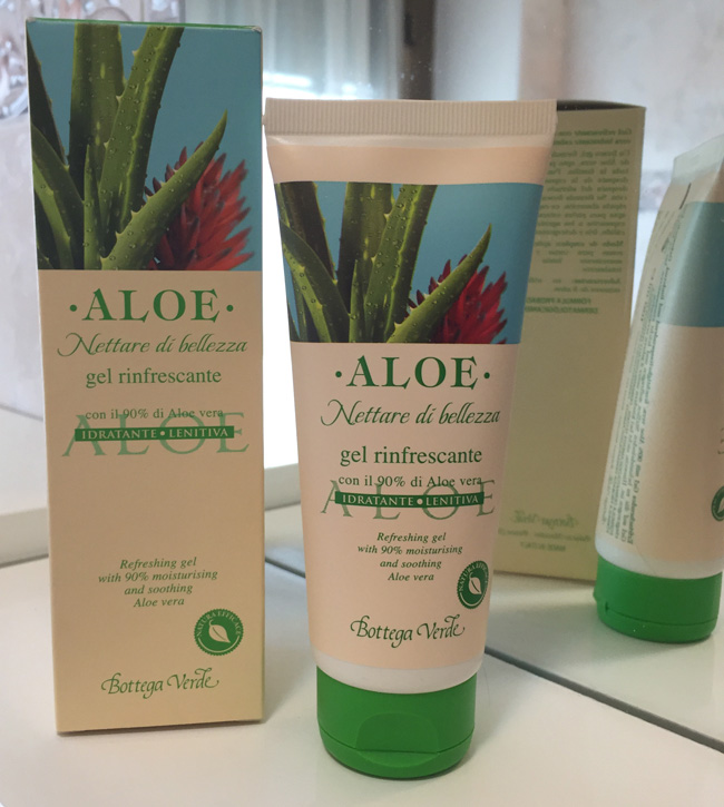 Gel Aloe Bottega Verde